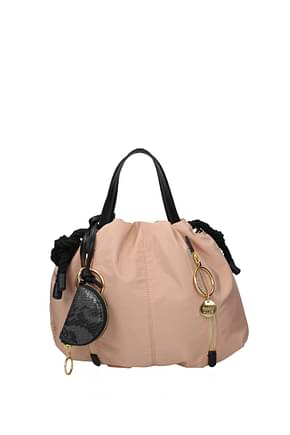 See by Chloé Handbags Women Fabric  Pink Nude Pink
