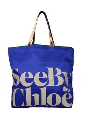 See by Chloé Shoulder bags Women Fabric  Blue