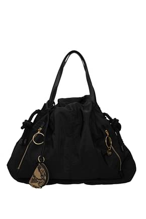 See by Chloé Shoulder bags Women Fabric  Black