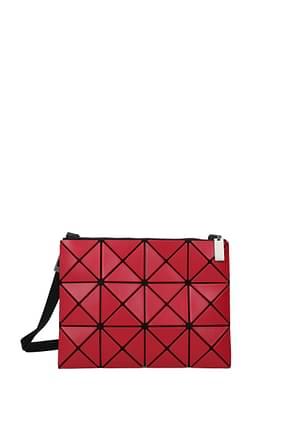 Issey Miyake Crossbody Bag baobao Women Plastic Red
