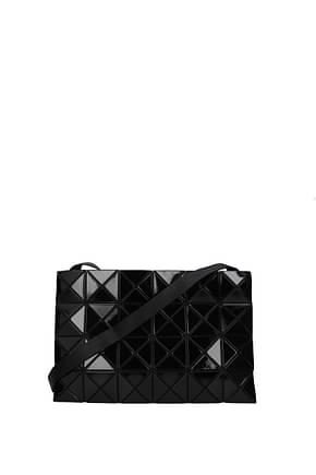 Issey Miyake Crossbody Bag bao bao Women Plastic Black