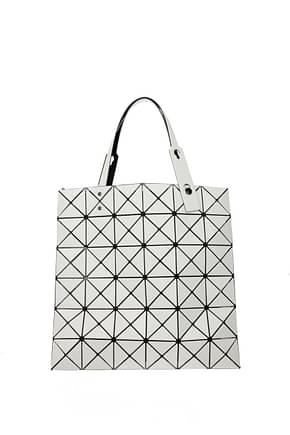 Issey Miyake Handbags bao bao Women Plastic Beige Vanilla
