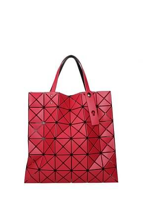 Issey Miyake Handbags bao bao Women Plastic Pink Coral