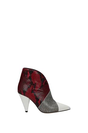 Isabel Marant Ankle boots Women Leather Multicolor