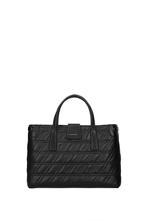 Zanellato Handbags duo s zeta Women Leather Black