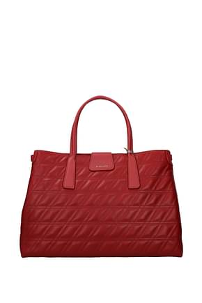 Zanellato Handbags duo metropolitan m Women Leather Red