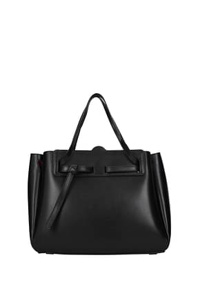 Loewe Handbags lazo Women Leather Black