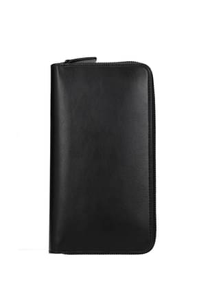 Common Projects Wallets Men Leather Black