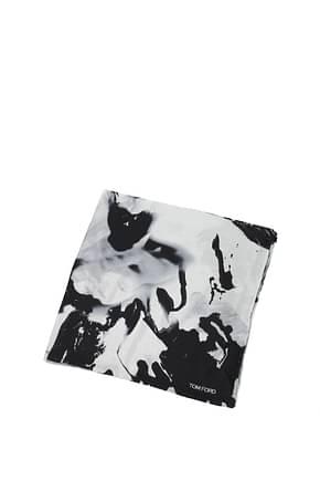 Tom Ford Tissues Men Silk Gray