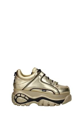 Buffalo Sneakers Donna Pelle Oro