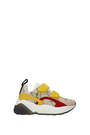 Stella McCartney Sneakers the beatles Donna Tessuto Beige