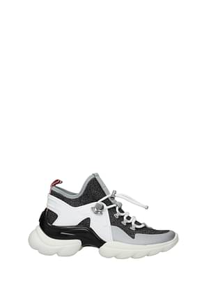 Moncler Sneakers thelma Women Fabric  Multicolor