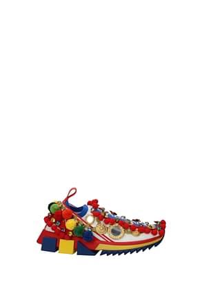 Dolce&Gabbana Sneakers Donna Tessuto Multicolor