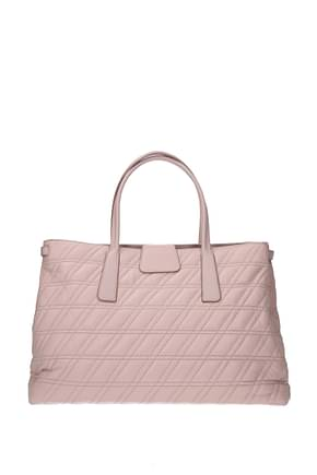 Zanellato Handbags duo metropolitan m Women Leather Pink