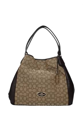 Shoulder bags Coach sig edie Women