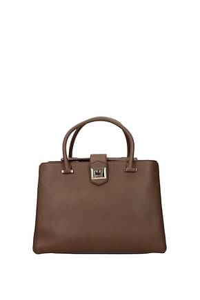 Jimmy Choo Handbags marianne Women Leather Brown