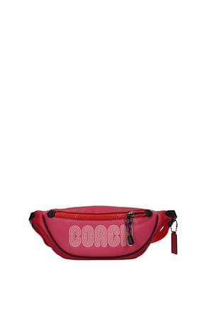 Coach Backpacks and bumbags Women Leather Fuchsia