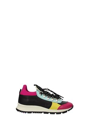 Philippe Model Sneakers x rossignol Women Leather Multicolor