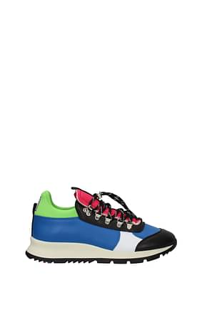 Philippe Model Sneakers x rossignol Men Leather Blue Black