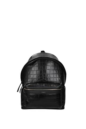 Saint Laurent Backpack and bumbags Men Leather Black