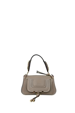 Chloé Handbags Women Leather Gray