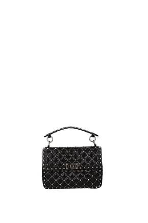 Valentino Garavani Handbags rockstud Women Leather Black