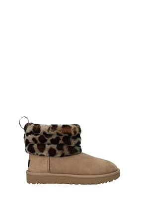 Ankle boots UGG fluff mini Women
