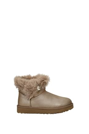 Ankle boots UGG classic fluff pin Women