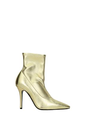 Giuseppe Zanotti Ankle boots notte Women Leather Gold