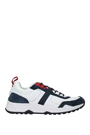 Tommy Hilfiger Sneakers Uomo Tessuto Bianco