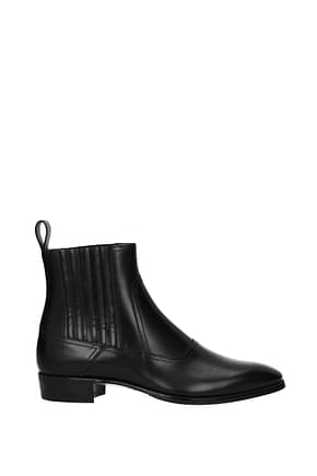 Gucci Ankle Boot spirit Men Polyamide Black