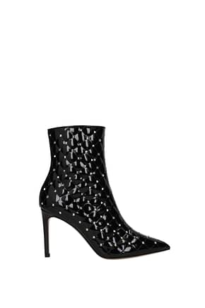 Valentino Garavani Ankle boots Women Patent Leather Black