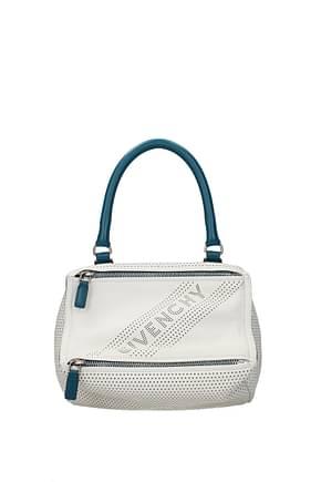 Givenchy Handbags pandora small Women Leather Beige