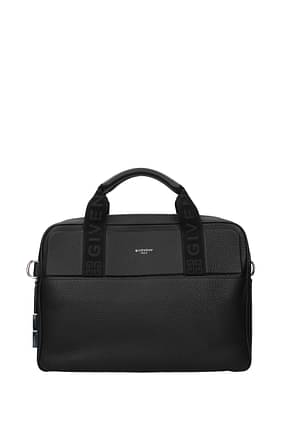 Givenchy Work bags Men Leather Black