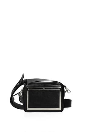 Roger Vivier Crossbody Bag Women Leather Black