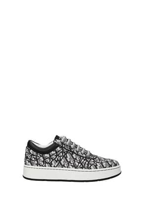 Jimmy Choo Sneakers Women Glitter Silver