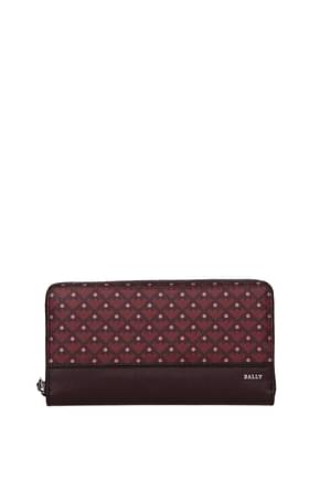 Bally Wallets Women Leather Violet Grapes