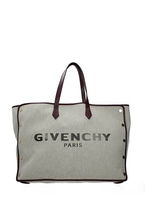 Givenchy Shoulder bags bond Women Fabric  Gray Aubergine