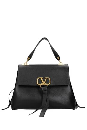 Valentino Garavani Handbags Women Leather Black
