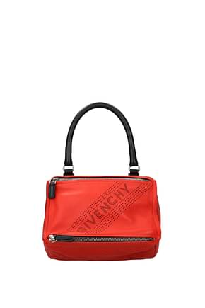 Givenchy Handbags pandora small Women Leather Red