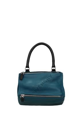 Givenchy Handbags pandora small Women Leather Blue
