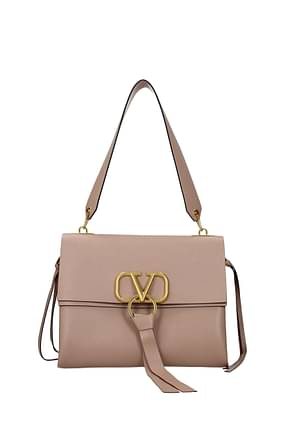 Valentino Garavani Shoulder bags Women Leather Pink