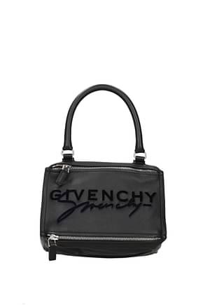 Givenchy Handbags pandora Women Leather Black
