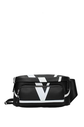Valentino Garavani Backpack and bumbags Men Leather Black