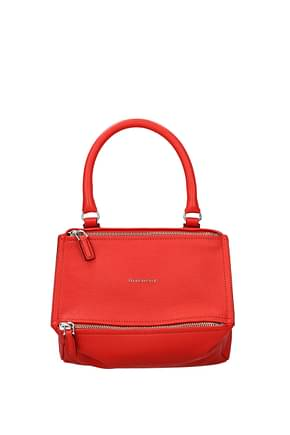 Givenchy Handbags pandora Women Leather Red