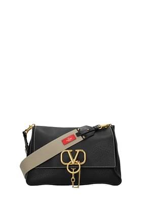 Valentino Garavani Crossbody Bag Women Leather Black