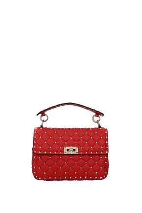 Valentino Garavani Handbags Women Leather Red Red