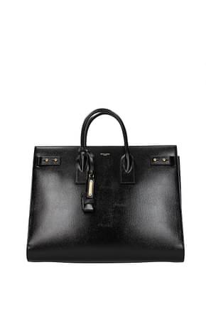 Saint Laurent Handbags sac de jour Men Leather Black