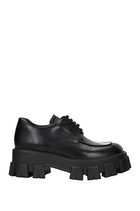 Lace up and Monkstrap Prada Women