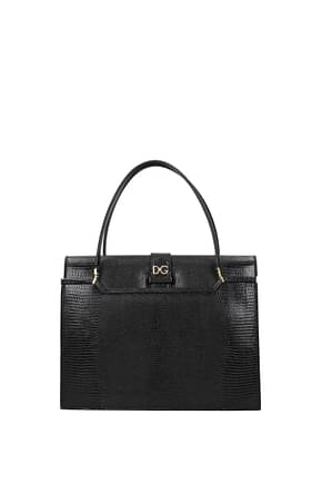 Dolce&Gabbana Handbags ingrid Women Leather Black